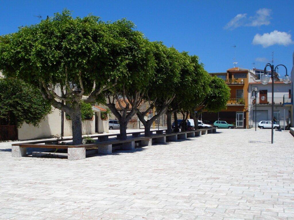 Torregrotta piazza Giovanni Tripoli